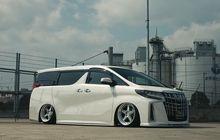 Toyota Alphard Kian Menawah, Asup Body Kit Jepang, Ceper Pasang Airsus