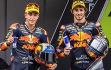 Dapat Hadiah, Raul Fernandez dan Remy Gardner Akan Jalani Uji Coba MotoGP Bareng KTM di Misano