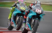 Jadi Rekan Setim, Andrea Dovizioso Ungkap Perubahan Pada Sifat Valentino Rossi