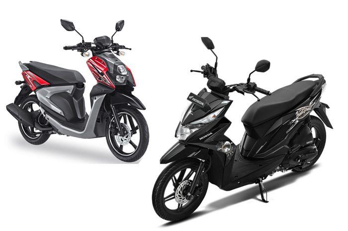 Desain Simpel Honda Beat Street Sukses Tekuk Yamaha All New X Ride Gridoto Com