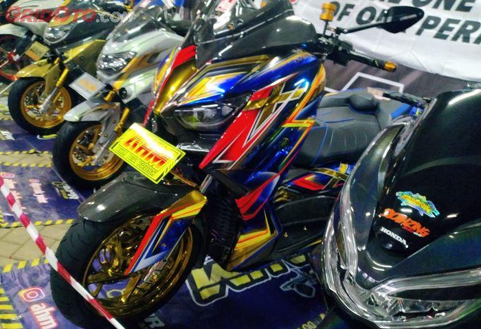 Yamaha XMAX modifikasi ikut kontes Adipro Motor EX IAM 2021
