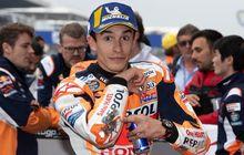 meski raih pole position, marc marquez mengaku kesulitan saat kualifikasi motogp prancis