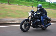 Test Ride Moto Guzzi V7 III Stone, Top Speed Kalah Dari Sport 250 cc?