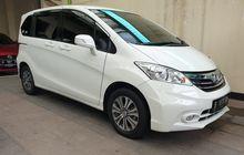Naksir MPV Stylish Honda Freed, Segini Pantauan Harga Bekasnya