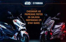 Baru Meluncur, Yamaha NMAX Edisi Star Wars Langsung Ludes! Seperti Ini Tampilannya