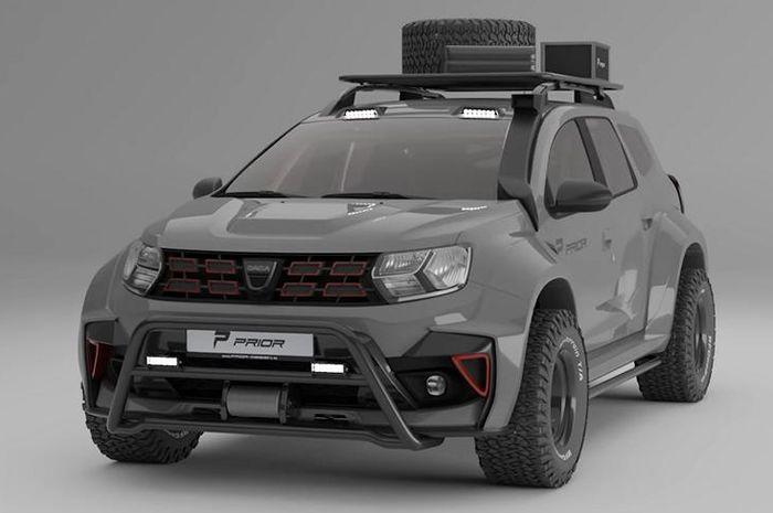 Dacia Duster baru ubahan Prior Design bisa jadi inspirasi modif pengguna Renault Duster