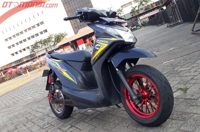 Honda BeAT listrik garapan Petrikbike