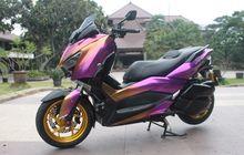 Bikin Melirik, Yamaha XMAX Nyentrik Ini Upgrade Kaki-kaki dan Sistem Pengereman