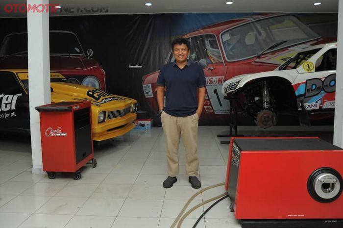 Taqwa Surya Swasono, pemilik bengkel Garden Speed
