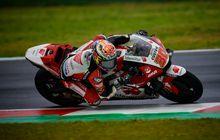 Hasil Warm Up MotoGP Emilia Romagna 2021 - Takaaki Nakagami Singkirkan Francesco Bagnaia, Fabio Quartararo Simpan Tenaga
