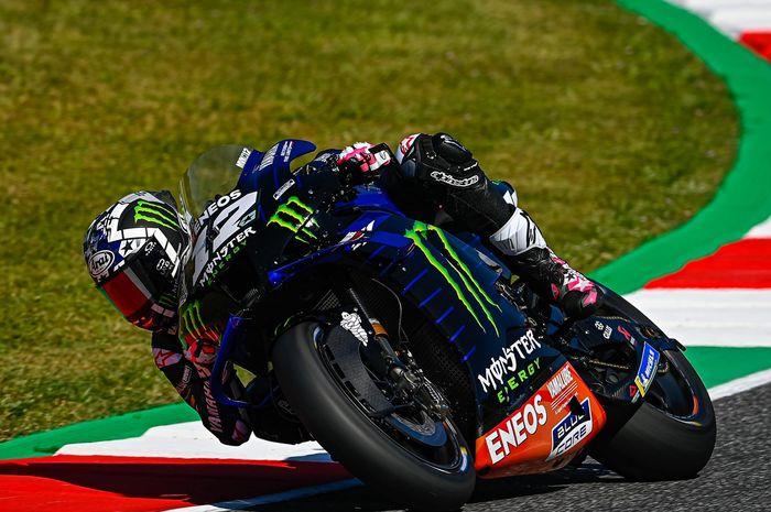 Beda nasib dengan Fabio Quartararo, Maverick gagal moncer di balapan MotoGP Italia 2021 di sirkuit Mugello