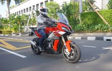 Test Ride Moge Adventure Berjantung Superbike, BMW S 1000 XR